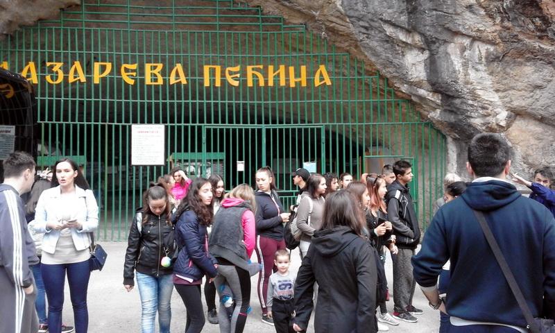 Izlet-Lazareva pećina